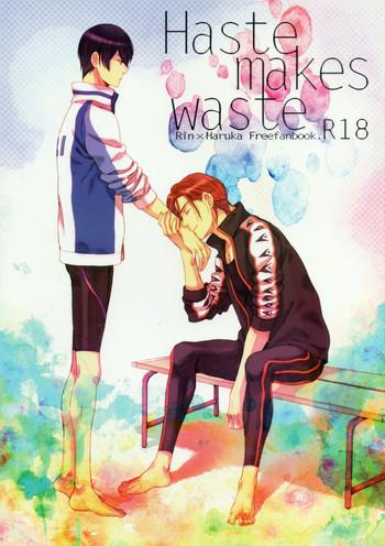 haste makes waste cover